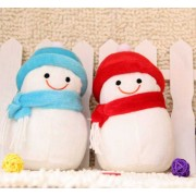 Special Cute Christmas White Snowman (Set of 2)