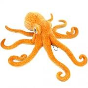 """Jesonn Giant Simulation Stuffed Marine Animals Soft Plush Toy Octopus Orange,33.5""""/85 Cm,1 Pc"""