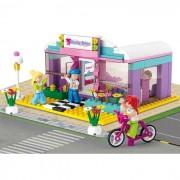 Girl's Dream szépségszalon 242 darabos építőkészlet 2 figurával