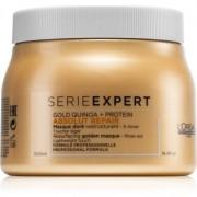 L'Oréal Professionnel Serie Expert Absolut Repair Gold Quinoa + Protein masca pentru regenerare pentru par deteriorat 500 ml