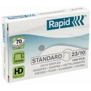 Capse 23/10, 1000 buc/cutie, RAPID Standard