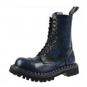 stivali in pelle unisex - STEADY´S - STE/10_blue/black