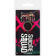 Pyramid Suicide Squad - Logo Rubber Keychain