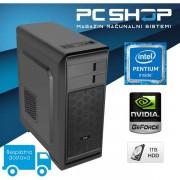 PC Računalo MagazinRS Gamer Intel G4560 3.5GHz, GT 1030 2GB, 8GB DDR4 RAM, HDD 1TB, DVD-RW