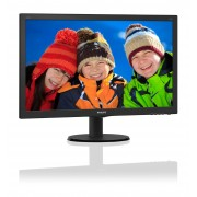 "Philips 240V5QDAB/00 23.8"" Full HD LED Flat Black computer monitor LED display"