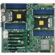 Дънна платка за сървър SuperMicro X11DPI-N, LGA3647, поддържа ECC DDR4 RDIMM, 2x Lan1000, 14x SATA 6Gb/s, Raid 0, 1, 5, 10, 5x USB 3.0, ЕATX