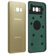 Clappio Tampa Traseira Dourada para Samsung Galaxy S8 Plus