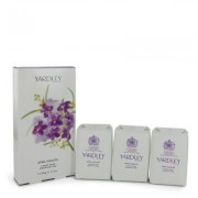 April Violets For Women By Yardley London 3 X 3.5 Oz Soap 3.5 Oz