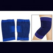 Knee Cap Knee support knee guard Knee Support (Free Size Blue Pair