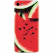 Husa silicon pentru Apple Iphone 5c S Of Watermelon Slice