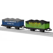 Lionel Trains Thomas and Friends Sodor Coal and Scrap Cars (2-Pack)