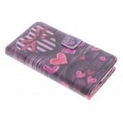 Love design TPU booktype hoes voor de Acer Liquid Z530