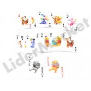 Carti de joc pentru copii - imprimeu Winnie the Pooh
