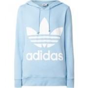 adidas Trefoil hoodie met steekzakken en logoprint