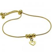 Bratara charm gold B3524
