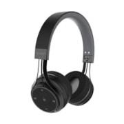 BlueAnt Pump Soul Wireless Bluetooth Stereo Headset - Over-the-head - Circumaural - Black
