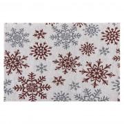 Față de masă Fulgi de nea albă, 33 x 48 cm
