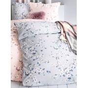 Irisette Bettbezug ca. 155x220cm, Kissenbezug ca. 80x80cm Irisette blau