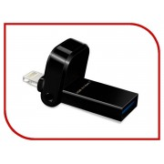 USB Flash Drive 64Gb A-Data i-Memory AI920 Lightning to USB 3.1 Black AAI920-64G-CBK