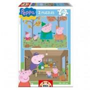 Educa Borrás - Peppa Pig - Puzzle 2 x 20