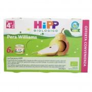 Hipp omogeneizzato pera williams multipack 6x80 g