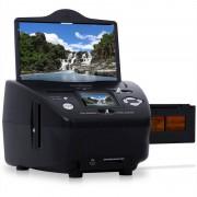 OneConcept Escáner combo fotos, negativos y diapositivas SD XD 5.1 MP (TG-179B)