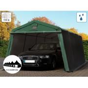 3,3x6,2m garázssátor mobilgarázs 500g/m2 PVC ponyva (Premium)