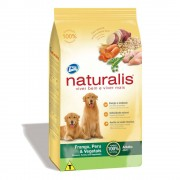 Total Alimentos Ração Total Naturalis Frango, Peru e Vegetais para Cães Adultos - 15 kg