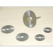 6pc HSS Circular Saw Blade Set For Metal Dremel Rotary Tools