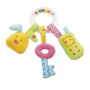 Jucarie zornaitoare Iepuras, Cheita & Telefon mobil - Brev Soft Toys-142242