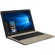 Лаптоп ASUS X540NA-GQ063, 15.6 инча 1366x768, Intel Celeron N3350, up to 2.4 GHz, Intel HD Graphics, 4GB, DDR3, 1TB