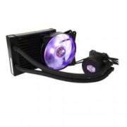 Водно охлаждане Cooler Master MasterLiquid ML120L RGB, съвместимост с Intel 2066/2011/V3/1366/1150/1151/1155/1156/775, AMD AM4/AM3+/AM3/AM2+/AM2/FM2/FM2+/FM1, RGB подсветка