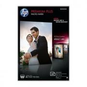 HP Premium Plus Photo Paper 10x15 cm glossy, 25 Ark, 300g