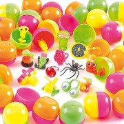 Baker Ross Lucky Dips - 25 pocket money toys. In colourful plastic they measure 6.5cm x 4cm. Toys will vary. 15 varieties per pack.