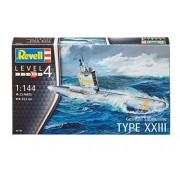 1/144 German submarine Type XXIII