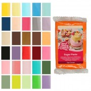 Cake Supplies Fondant de colores de 250 g - FunCakes - Color Rojo fuego
