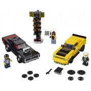 LEGO Speed Champions 75893 2018 Dodge Challenger SRT Demon și 1970 Dodge Charger R / T