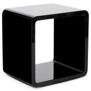 Cube de rangement 'KUBIC' noir empilable