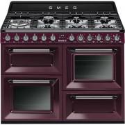 SMEG Tr4110rw1 Cucina 110x60 7 Fuochi A Gas Triplo Forno Classe A Colore Vino