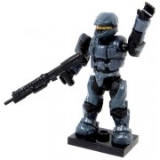 Ha15 A5 Halo Wars Mega Bloks Loose Mini Figure Blue Steel Unsc Spartan Scout With Shotgun