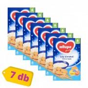 Milupa Szép álmokat! kekszes tejpép 6 hó+ (7x250 g)