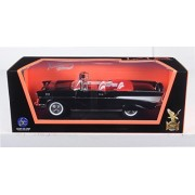 1957 Chevrolet Bel Air Convertible Black 1/18 By Road Signature 92108