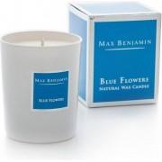Max Benjamin Świeca Blue Flowers
