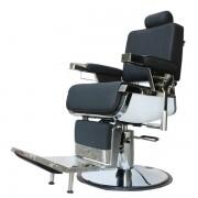 Scaun Salon Frizerie Coafor Reglabil Rotativ David2 3308 Negru