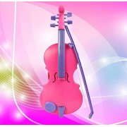 Usstore 1PC Kid Baby Pink Magic Child Music Violin Children's Musical Instrument toy gift