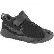 Nike Zwarte Team Hustle Quick 2 velcro
