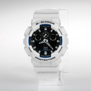 Casio G-SHOCK Standard Analog Digital Montre GA-100B-7A - Blanc