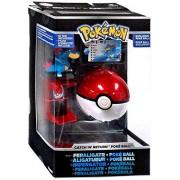 Pokemon TOMY Trainers Choice Catch n Return Poke Ball Feraligatr & Poke Ball