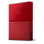 WD vanjski tvrdi disk My Passport 4 TB, crveni (WDBYFT0040BRD-WESN)