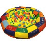 Бассейн сухой круглый с увеличенными бортами D 2.2 «КРУТЫШКА»